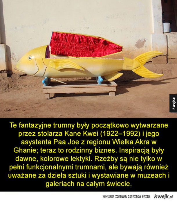Fantazyjne ...trumny z Ghany