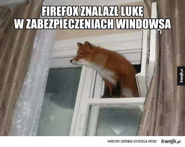 Firefox znalazł lukę