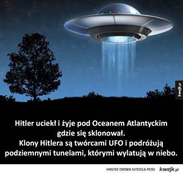 Głupie teorie spiskowe, w które wierzą ludzie