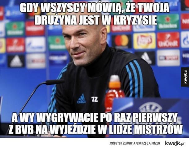 Memy po meczu w Dortmundzie - Gdy wszyscy mówią, że twoja drużyna jest w kryzysie a wy wygrywacie po raz pierwszy z BVB na wyjeździe w lidze mistrzów