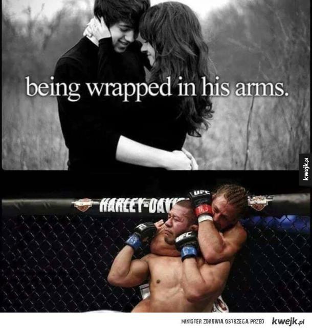 Tak romantycznie..