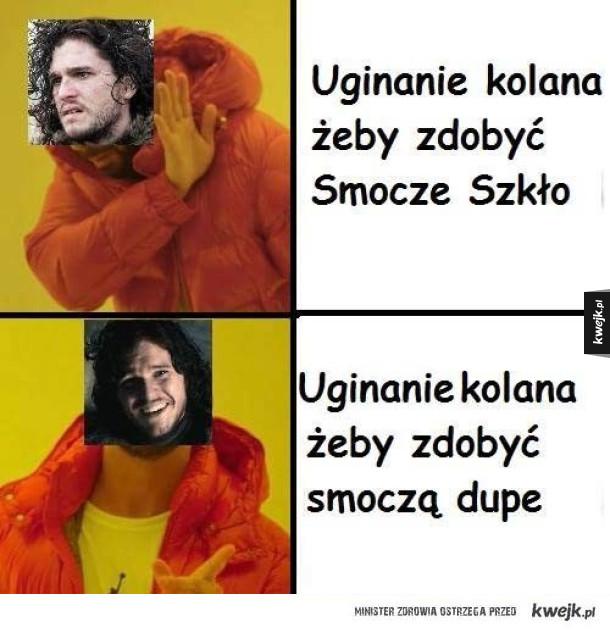 Typowy Jon Snow