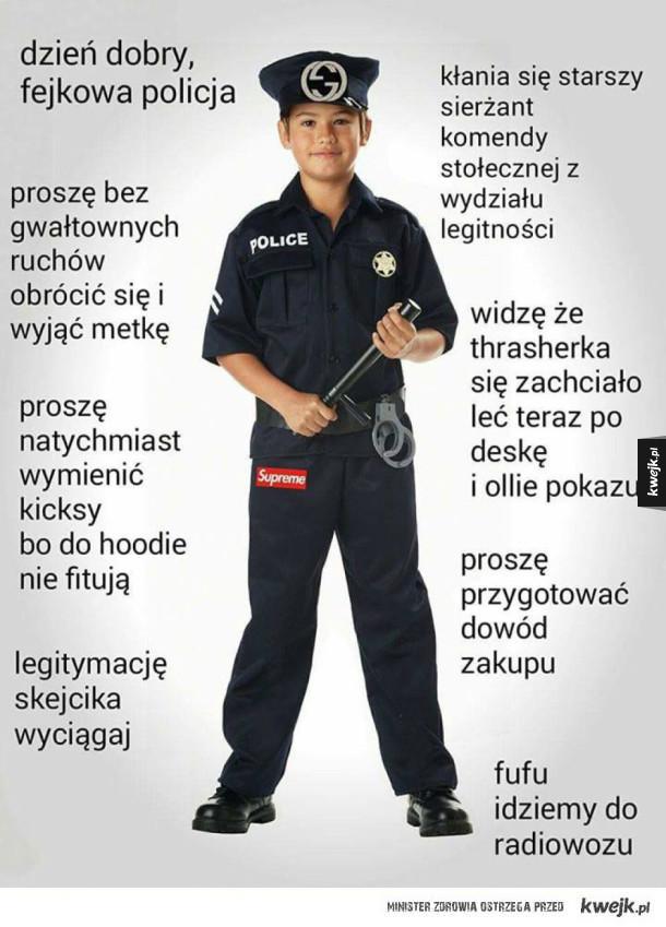 Fejkowa policja