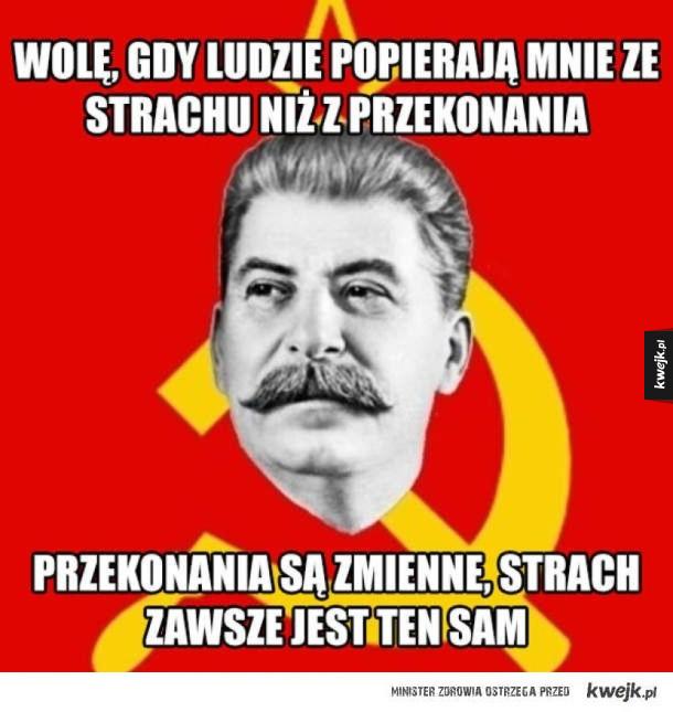 Złote myśli wujka Stalina