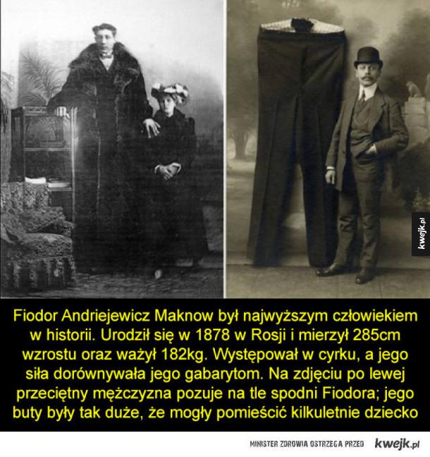 Najwyższy człowiek w historii
