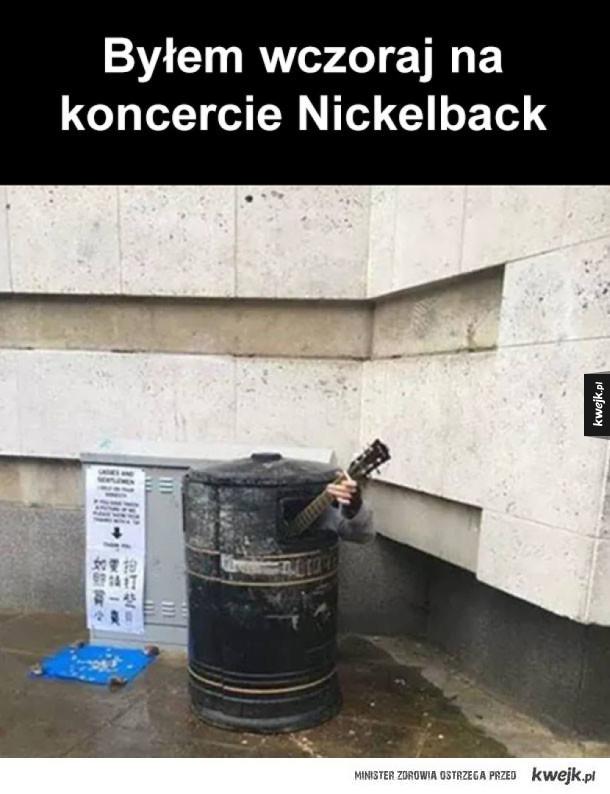 Koncert Nickelback