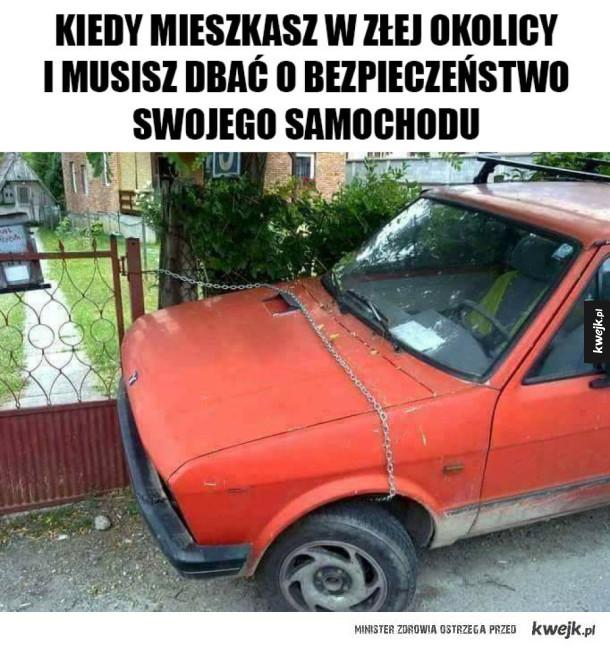 Trzeba dbać o samochód