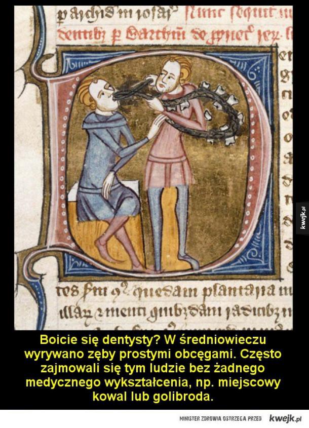 10 powodów, dla których nie chciałbyś żyć w średniowieczu