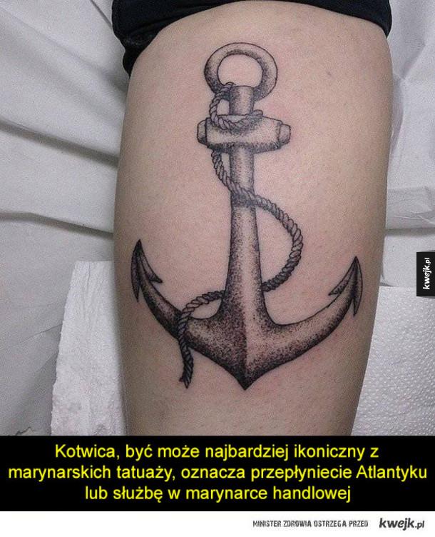 Marynarskie Tatuaże I Ich Znaczenie Galeria Kwejkpl