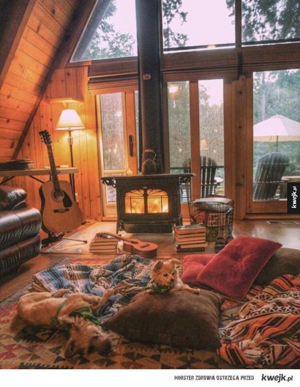Przytulne miejsca, w sam raz na deszczowe dni