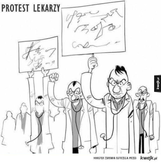 Protest lekarzy