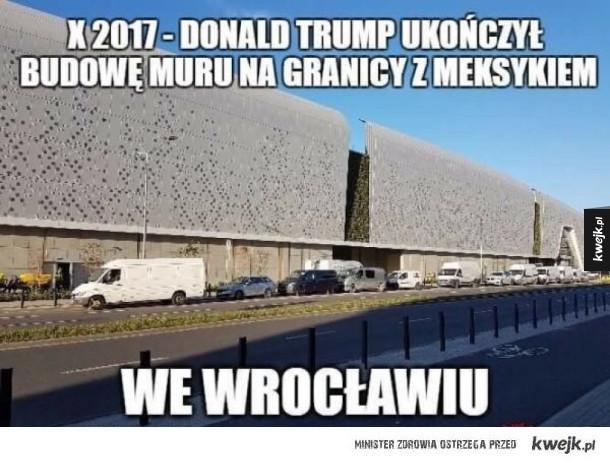 Mur ukończony