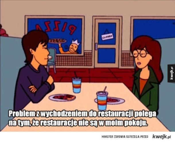 Problem z restauracjami