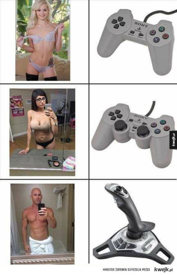 Pady do gier