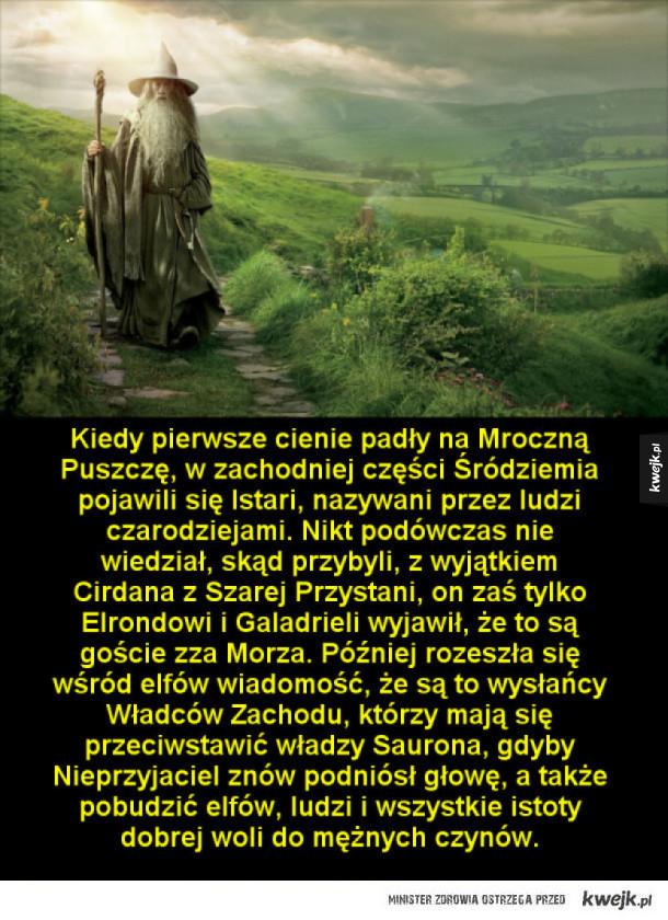 Czarodzieje Śródziemia według Silmarillionu Tolkiena