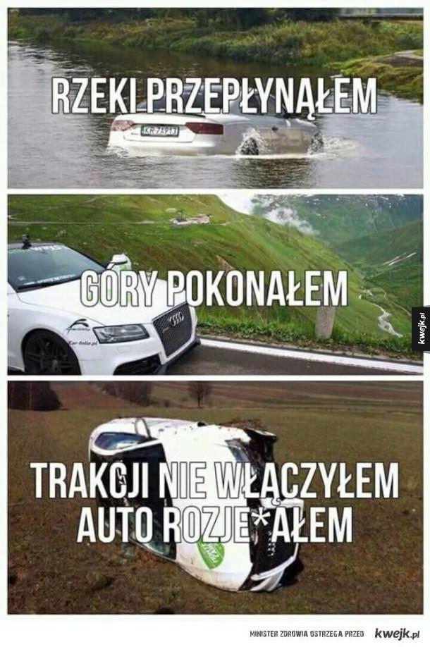 No i po samochodzie