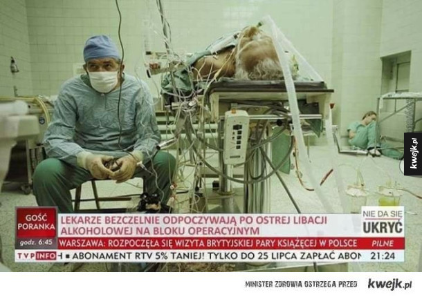 Bezczelni lekarze