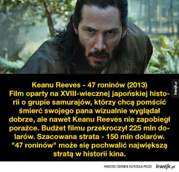 Największe filmowe porażki gwiazd kina