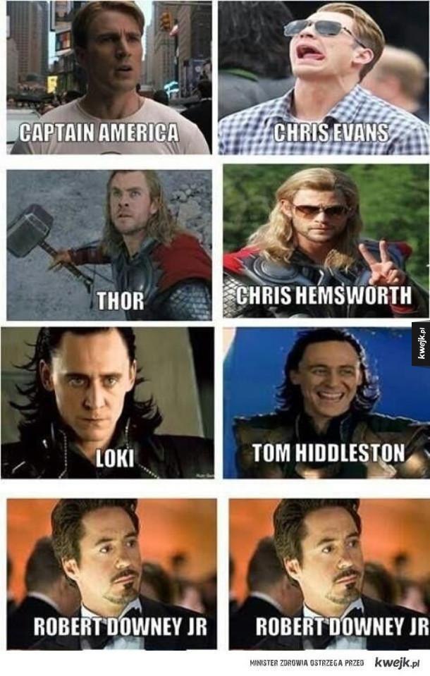 Taki wygląd bohaterów