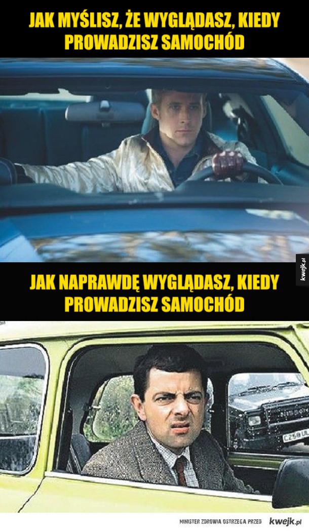 Memy dla kierowców