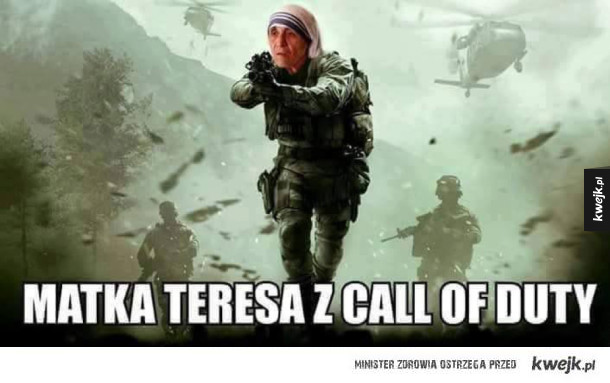 Matka Teresa z Call of Duty