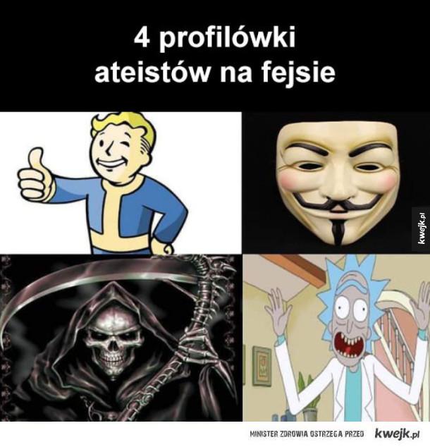Ateiści na facebooku