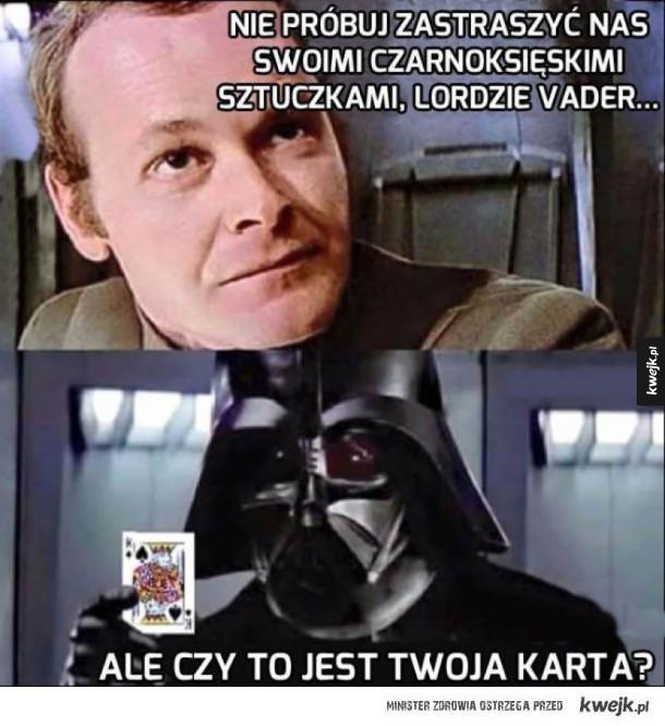 Czarnoksięskie sztuczki Vadera
