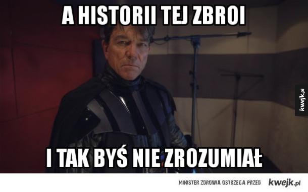 Mirosław Zbrojewicz jako Darth Vader