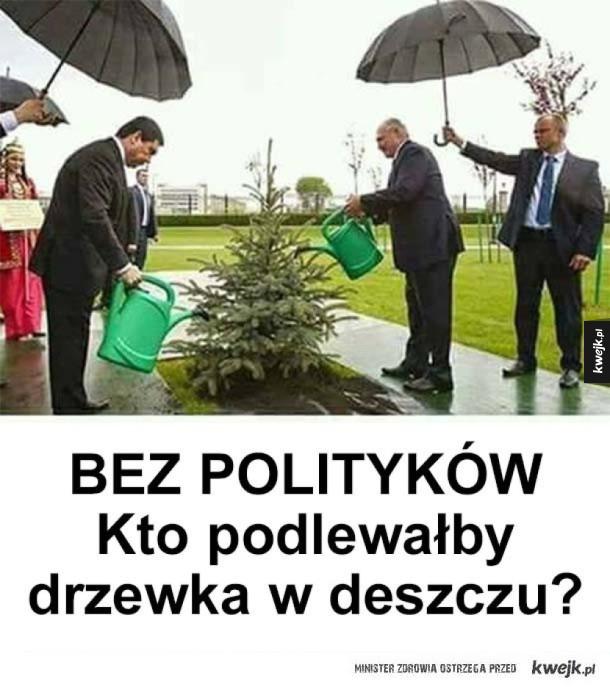 Politycy są potrzebni