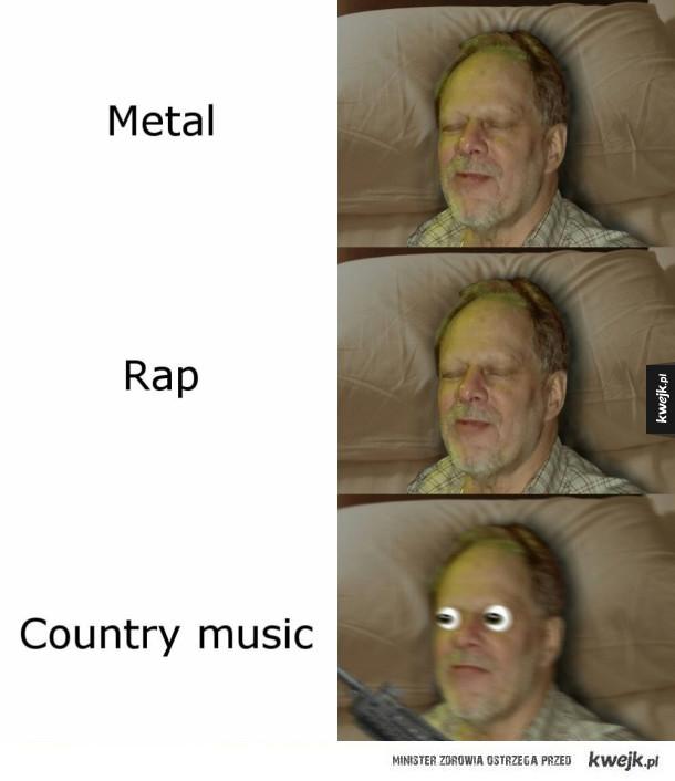 Nienawidzi country