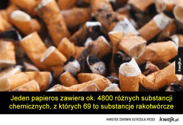 Kilka faktów o paleniu, które być może pomogą wam rzucić
