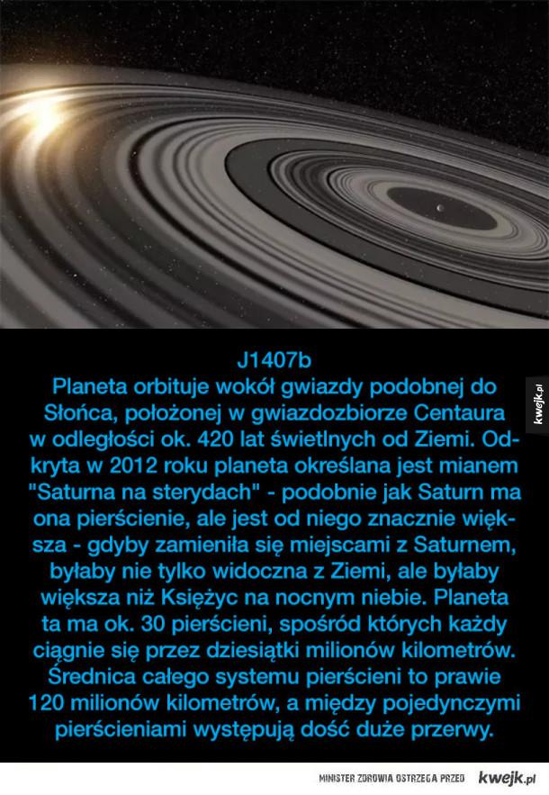 Niezwykłe planety pozasłoneczne