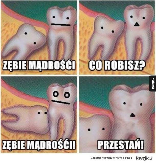 """Typowy ząb """"mądrości"""""""