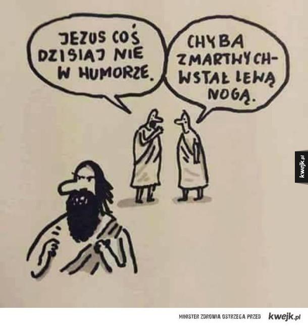 Jezus nie w humorze