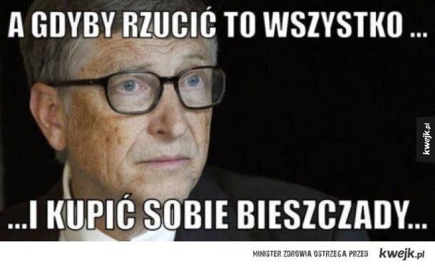 Rozkminy Billa Gatesa