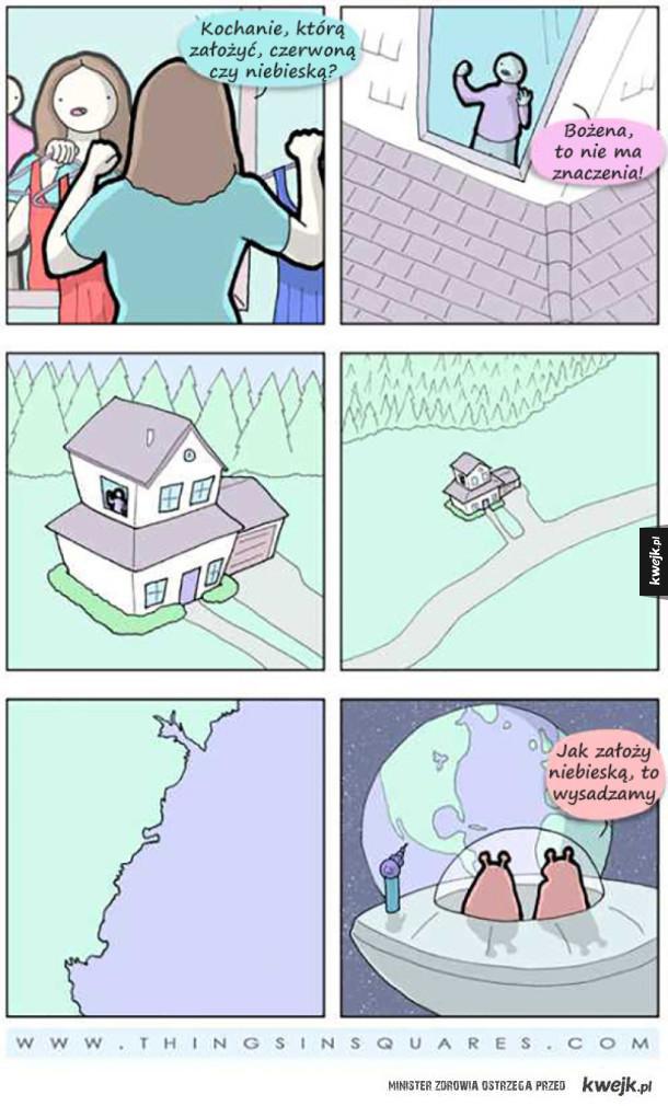 Komiksy Things In Squares
