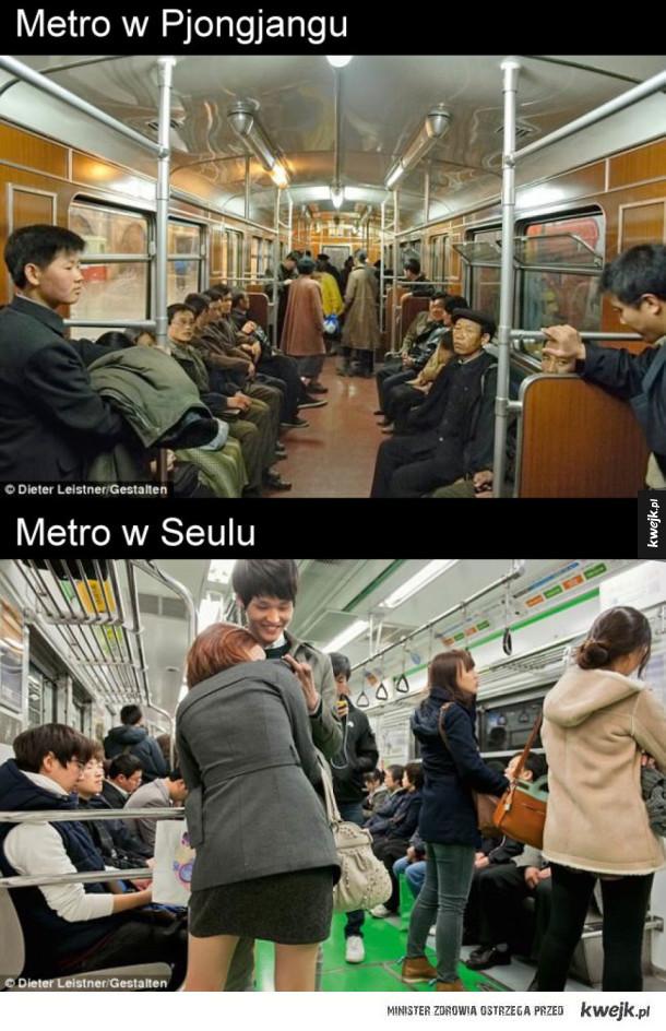 Różnice między Koreą Północną a Południową