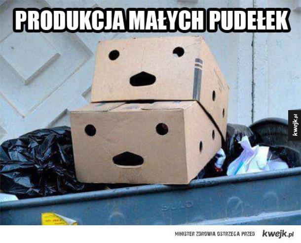 Tak powstają pudełka