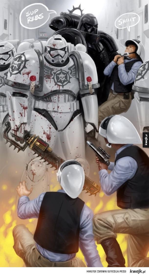 Warhammer 40k < Star Wars