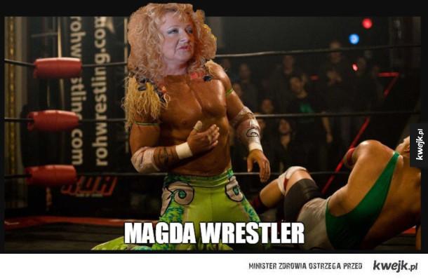 Magda dojeżdża