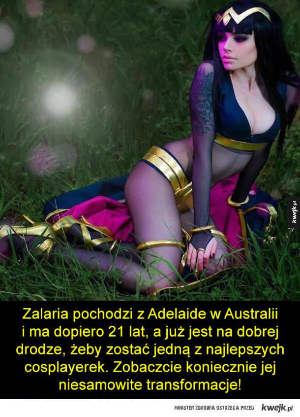 Zalaria - piękna cosplayerka z Australii