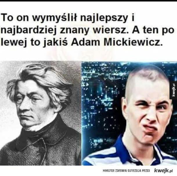 Znany poeta