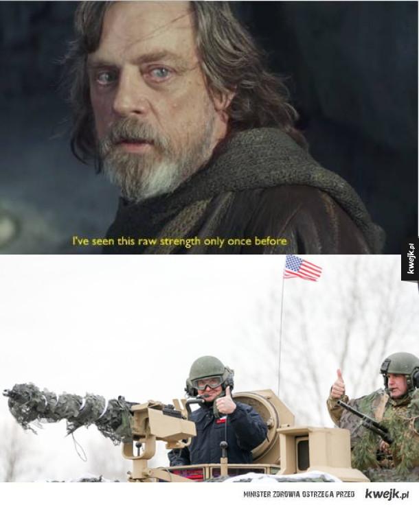 Moc jest w nim silna
