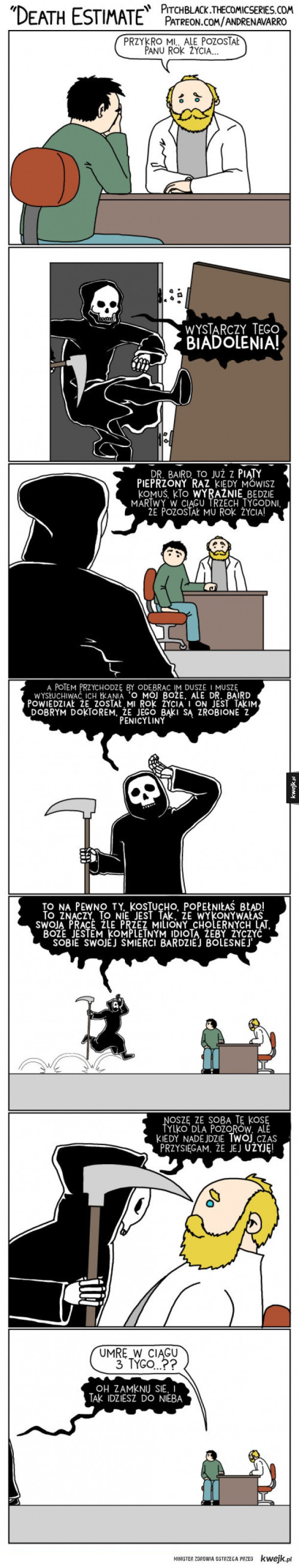 Nie jest łatwo być Śmiercią
