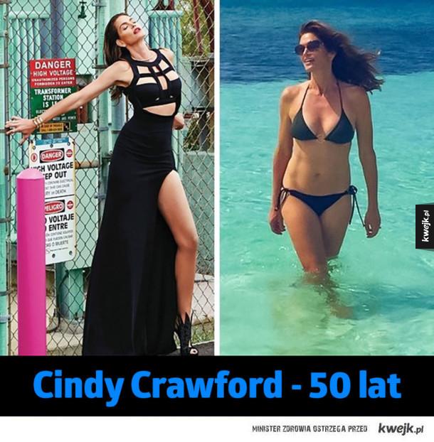 Kobiety po czterdziestce, które udowadniają, że wiek to tylko liczba - Cindy Crawford - 50 lat