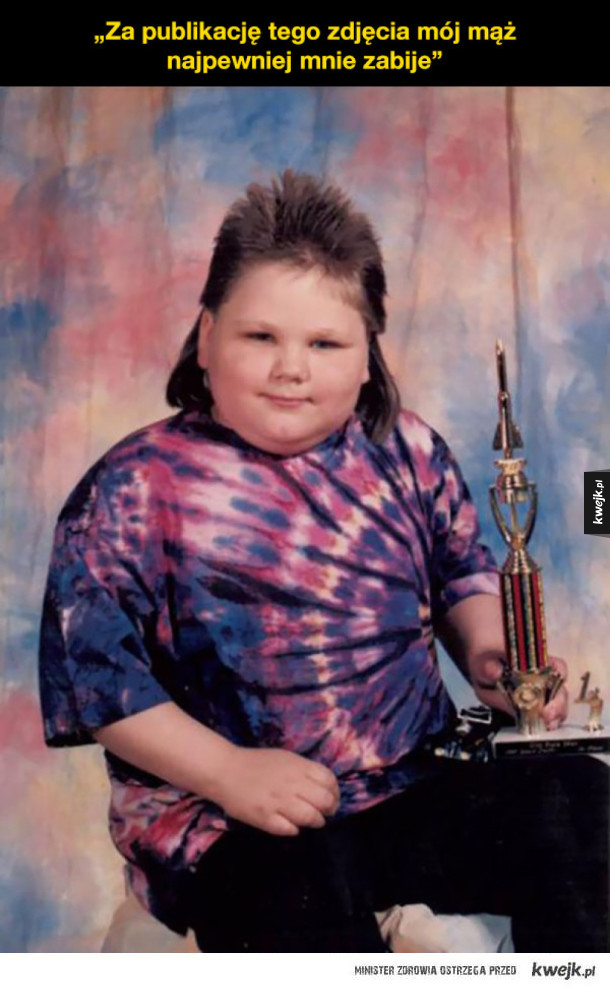 Wstydliwe zdjęcia z dzieciństwa ma chyba każdy