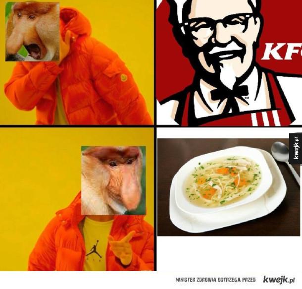 Jedyne akceptowalne jedzenie