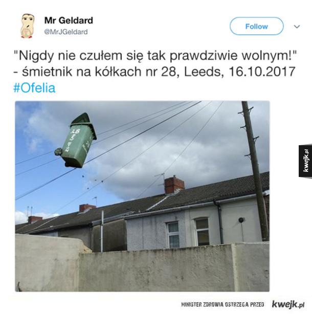 Irlandczycy reagują na huragan