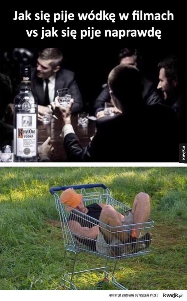 Picie wódki