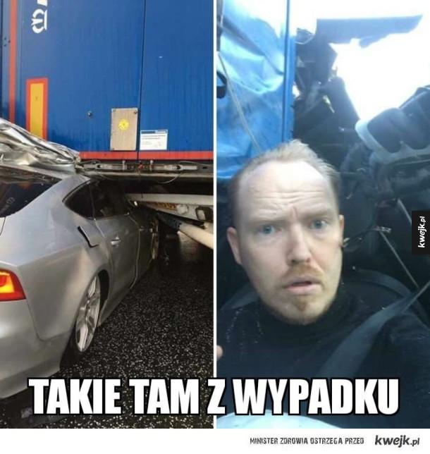 Selfie z wypadku